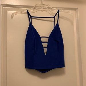 Forever 21 Caged Croptop